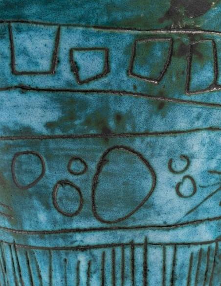 1432-Jacques Blin ( 1920- 1995) - vase oiseau