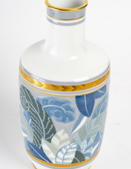 1440-Vase en porcelaine de Sèvres, art déco