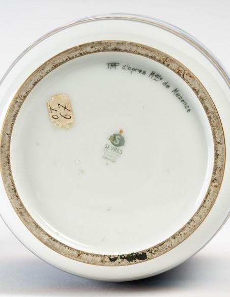 1444-Vase en porcelaine de Sèvres, art déco