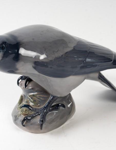 1470-Corbeau et grenouille par royal Copenhague