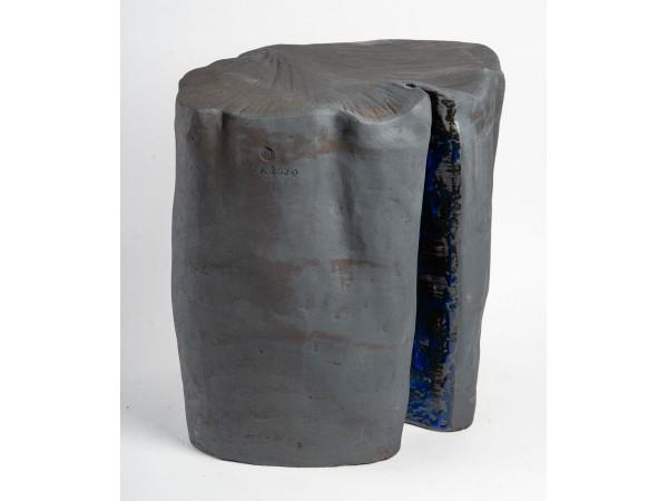 "Sculpture en céramique ""gingko"" par Marc Albert"