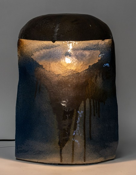 1662-Borne d'amarrage lumineuse par Marc Albert