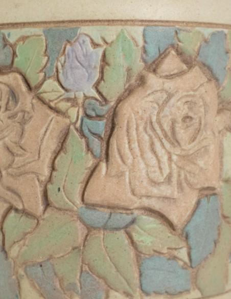 483-Pierre et Joseph Mougin ( 1876 - 1961 ) - vase ovoïde