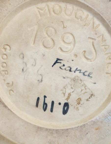 485-Pierre et Joseph Mougin ( 1876 - 1961 ) - vase ovoïde