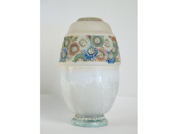 Les frères Mougin - vase en céramique art nouveau