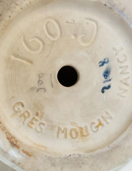 572-Les frères Mougin - vase en céramique art nouveau